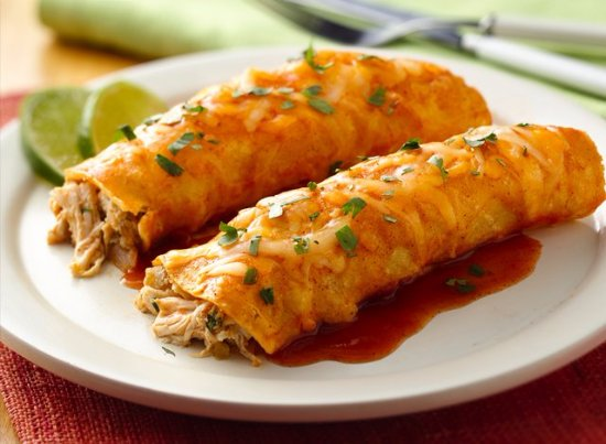 Seymour, CT: Chicken Enchiladas