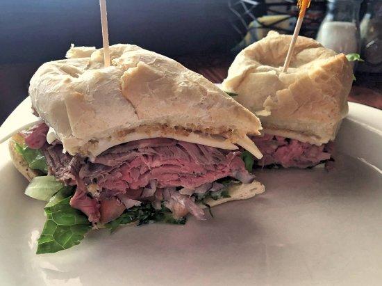 Jordan Valley, Oregón: Top Sirloin Beef Sandwich Special