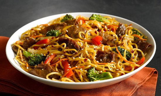 HuHot Mongolian Grill: Create-your-own stirfry!