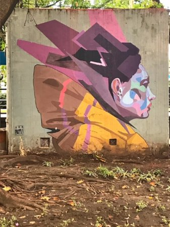 BA Street Art Tours: the end of the tour (near the Coughlin train station)