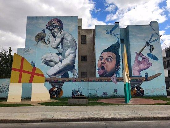 BA Street Art Tours: our first stop!