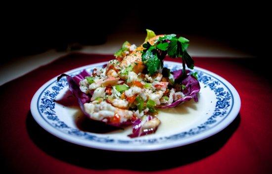 Bayside, Estado de Nueva York: Salpicon-Seafoof Salad