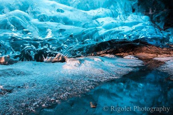 Hofn, Iceland: Crystal Ice Cave