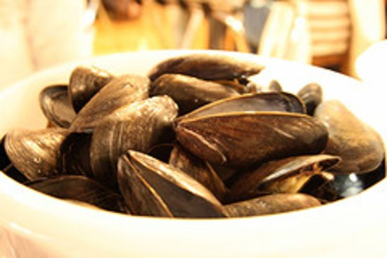 New Glasgow, Kanada: bucket of mussels?