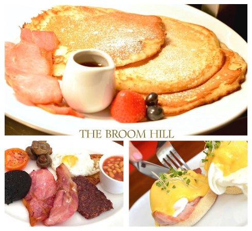 The Broom Hill: Fancy breakfast yum yum.