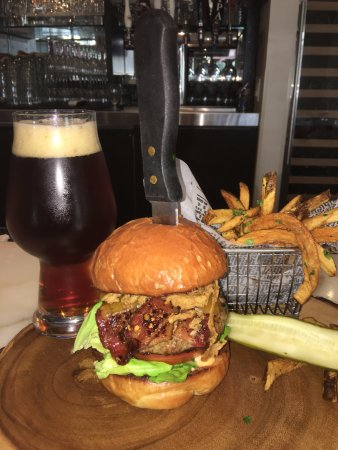 Irvine, CA: Burger and Beer