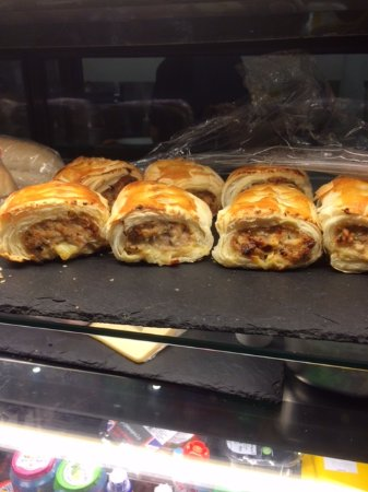 Уонтедж, UK: Sausage bars