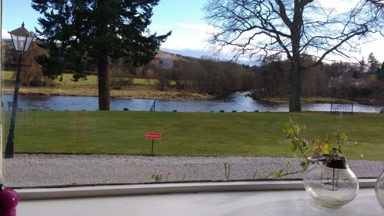 Inverurie, UK: The view from restuarant