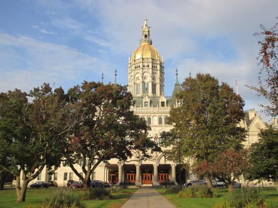 Connecticut State Capitol: Front of the Capitol