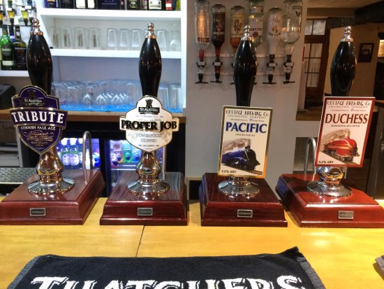 Bampton, UK: our guest ales
