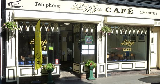 Liffy's Cafe & Bistro: cafe front
