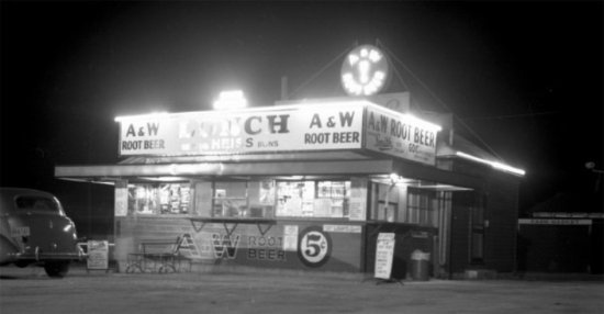 Oshkosh, WI: South Side A&W - 1940's