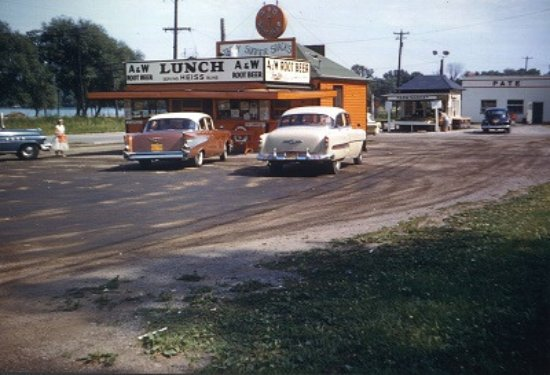 Oshkosh, WI: South Side A&W 1958