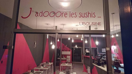 Libourne, Francia: J'adOOOre les Sushis