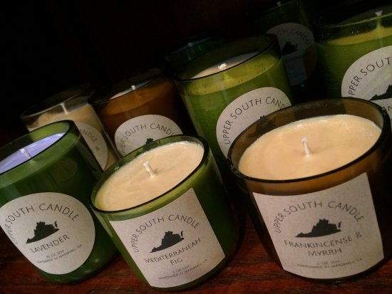 handmade locally made soy candles - Picture of Local Thirty Five