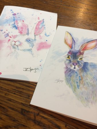 Warrenton, Wirginia: local artist's greeting cards
