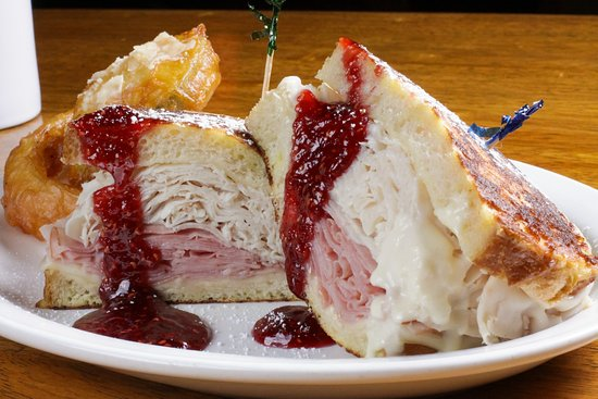 "Juicy's The Place with the Great Food: Monte Cristo Sweetness ""Waiting for you"""