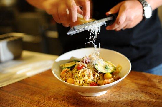 Nuvolari's Ristorante: Menu items are made fresh to order.