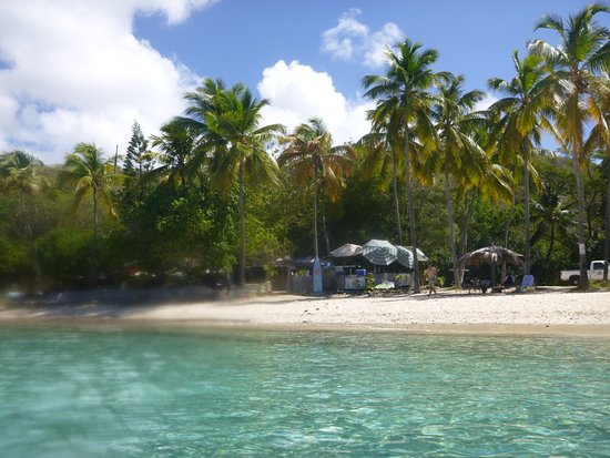 Water Island, St. Thomas: Place from the water