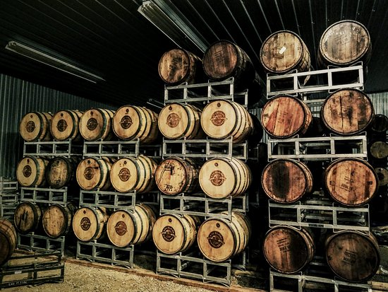 Turner Valley, Canada: Barrel Room