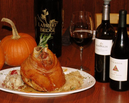 Highland Park, IL: Oktoberfest is a special time, and the Pork Shank is a real specialty!
