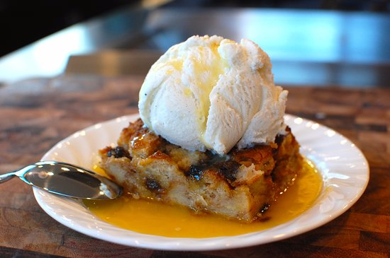 Strasburg, VA: Bread pudding