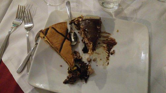 Infernetto, Italy: torta al bacio