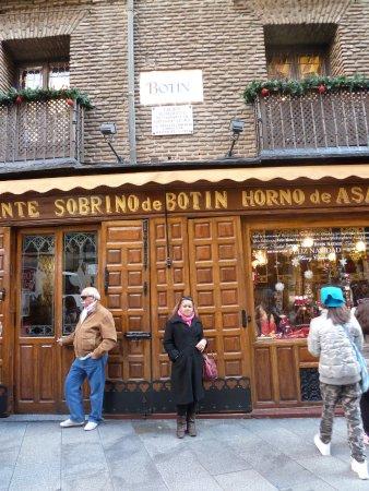 Restuarant Botin: Restaurante Sobrino de Botin, Madrid - Espanha