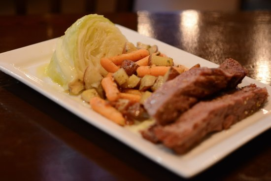 Kenosha, WI: Limited Time- Corned Beef & Cabbage