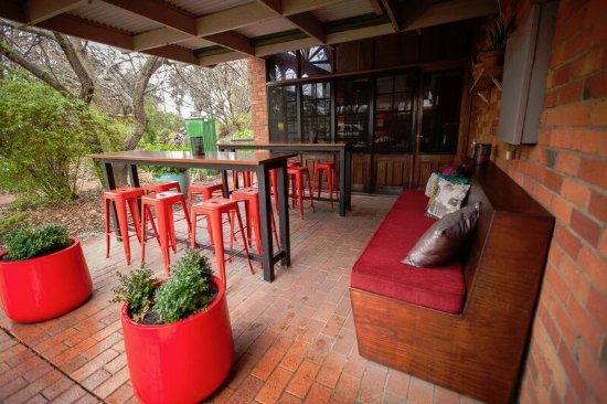 Alfresco area Corowa