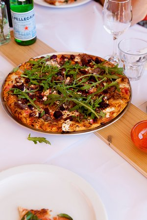 Corowa, Australien: Tuscany gourmet pizza!