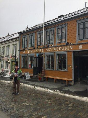 Photo of Modern European Restaurant Baklandet Skydsstation at Øvre Bakklandet 33, Trondheim 7407, Norway