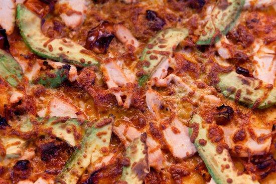 Corowa, Australien: Positano gourmet pizza!