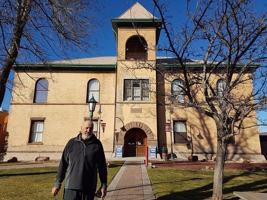 Navajo County Historical Museum: fachada do Museu