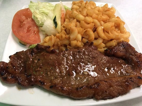 Milpitas, CA: Macaroni New York Steak