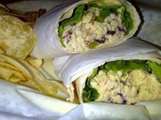 Pelham, AL: Chicken Salad Wrap