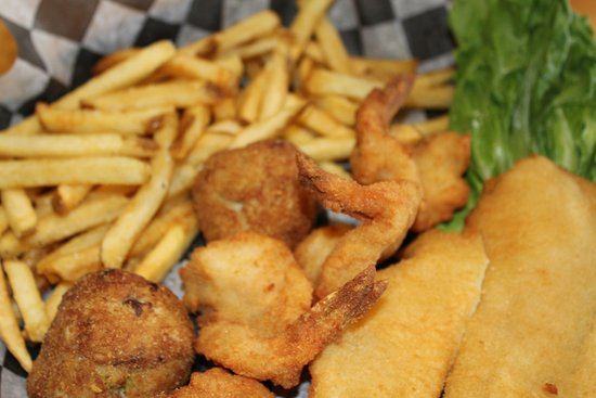 Seaside Park, NJ: Fried Seafood Platter