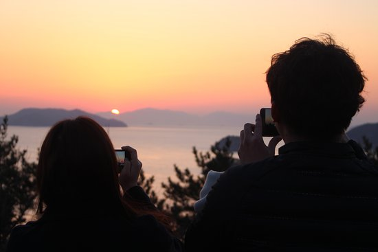 Tongyeong, Corea del Sur: 달아공원의 커플