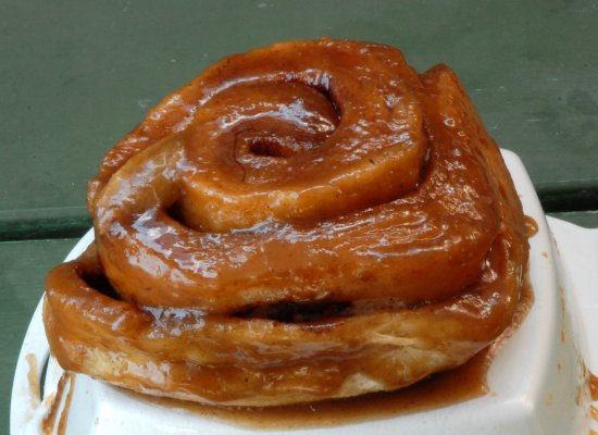 Williamsport, Pensilvania: Our regular sticky bun has been known to be extremely addictive.