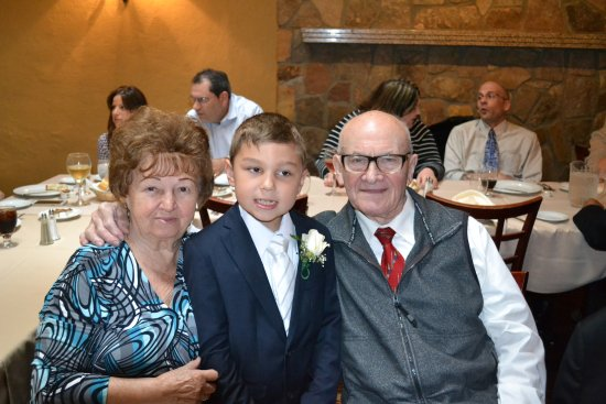 Bloomfield, Nueva Jersey: John's first communion