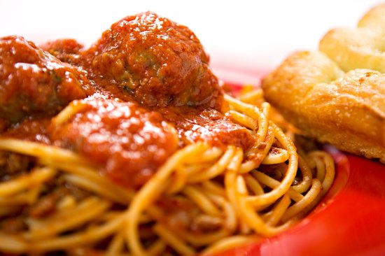 Isla Vista, CA: Spaghetti Meatballs