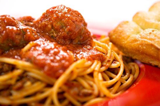 Isla Vista, Καλιφόρνια: Spaghetti Meatballs