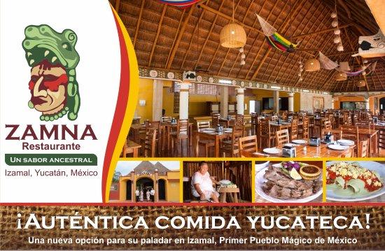 Izamal, México: Restaurante Zamna