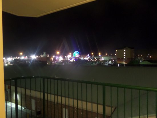 Park Grove Inn : Balcony view was amazing!
