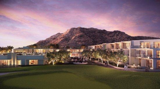 Paradise Valley, Arizona: Mountain Shadows - Lawn and Courtyard
