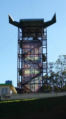"""Toro Verde Nature Adventure Park: Platform for """"The Monster"""""""
