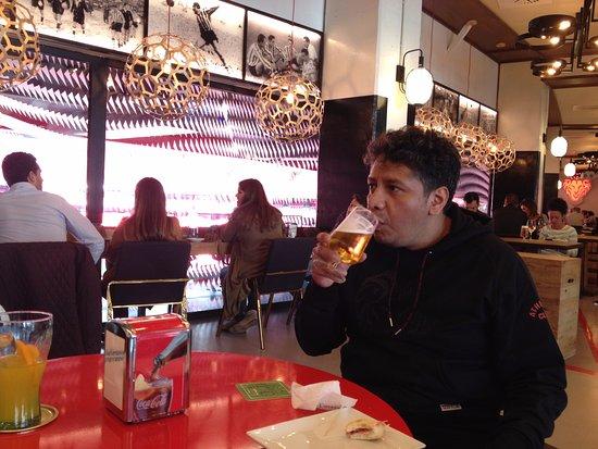 La Campa de los Ingleses: cervezas bien frias