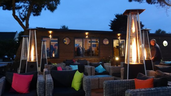 terrasse bar lounge et restaurant photo de le theven sibiril tripadvisor. Black Bedroom Furniture Sets. Home Design Ideas