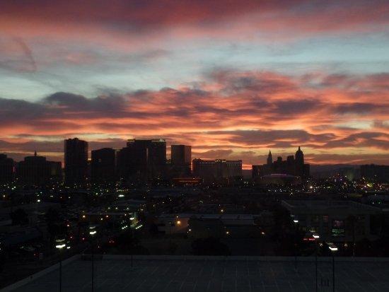 The Orleans Hotel & Casino: Las Vegas sunrise