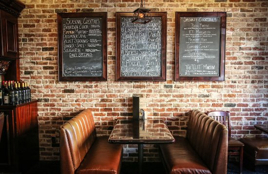 Friar Tuck's Restaurant & Bar: Seasonal & speciality cocktails, 10 wines by the glass and daily specials